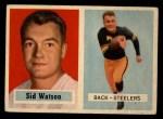 1957 Topps #75  Sid Watson  Front Thumbnail