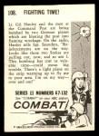 1964 Donruss Combat #108   Fighting Time Back Thumbnail
