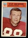 1966 Philadelphia #189  Pat Richter  Front Thumbnail