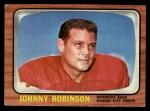 1966 Topps #74  Johnny Robinson  Front Thumbnail