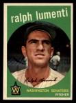 1959 Topps #316 ^OPT^ Ralph Lumenti  Front Thumbnail