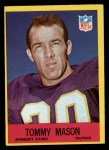 1967 Philadelphia #104  Tommy Mason  Front Thumbnail