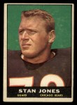 1961 Topps #14  Stan Jones  Front Thumbnail