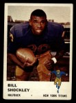 1961 Fleer #213  Bill Shockley  Front Thumbnail