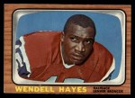 1966 Topps #34  Wendell Hayes  Front Thumbnail