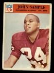 1966 Philadelphia #191  John Sample  Front Thumbnail