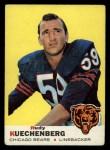 1969 Topps #117  Rudy Kuechenberg  Front Thumbnail