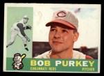 1960 Topps #4  Bob Purkey  Front Thumbnail