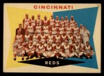 1960 Topps #164   Reds Team Checklist Front Thumbnail