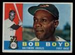 1960 Topps #207  Bob Boyd  Front Thumbnail
