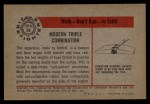 1953 Bowman Firefighters #59   Modern Triple Combination - Central Back Thumbnail