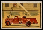 1953 Bowman Firefighters #59   Modern Triple Combination - Central Front Thumbnail