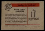 1953 Bowman Firefighters #32   Modern Pumping Combination - 1949 Seagrave Back Thumbnail
