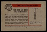 1953 Bowman Firefighters #31   1925 Hose and Chemical Combo Back Thumbnail