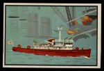 1953 Bowman Firefighters #46   Modern Fire Boat - New York City Front Thumbnail