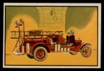 1953 Bowman Firefighters #36   1925 Chemical Truck Front Thumbnail