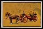 1953 Bowman Firefighters #23   1901 Searchlight Unit Front Thumbnail
