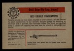 1953 Bowman Firefighters #51   1935 Double Combination Back Thumbnail