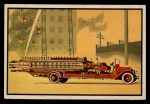 1953 Bowman Firefighters #35   1923 Service Ladder Truck Front Thumbnail