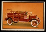 1953 Bowman Firefighters #31   1925 Hose and Chemical Combo Front Thumbnail