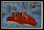 1953 Bowman Firefighters #38   Modern Fireboat - Christie Front Thumbnail