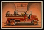 1953 Bowman Firefighters #61   1925 Pumping Engine Front Thumbnail