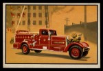 1953 Bowman Firefighters #64   1939 Pumping Engine Front Thumbnail