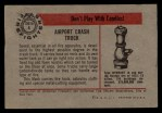 1953 Bowman Firefighters #4   Airport Crash Truck - Mack Back Thumbnail