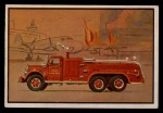 1953 Bowman Firefighters #4   Airport Crash Truck - Mack Front Thumbnail