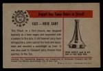 1953 Bowman Firefighters #42   1923 Hose Cart Back Thumbnail