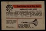 1953 Bowman Firefighters #15   Modern Hook and Ladder - Pirsch Back Thumbnail