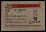 1953 Bowman Firefighters #23   1901 Searchlight Unit Back Thumbnail