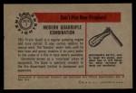 1953 Bowman Firefighters #7   Modern Quadruple Combination - Pirsch Quad Back Thumbnail