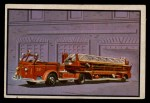 1953 Bowman Firefighters #2   Modern Hook and Ladder - American LaFrance Front Thumbnail