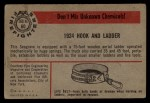 1953 Bowman Firefighters #60   1924 Hook and Ladder Back Thumbnail