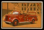 1953 Bowman Firefighters #3   Modern Pumping Engine - Mack Front Thumbnail