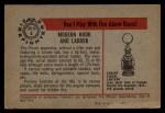 1953 Bowman Firefighters #8   Modern Hook and Ladder - Pirsch Back Thumbnail