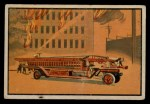 1953 Bowman Firefighters #27   1918 Hook and Ladder truck Front Thumbnail