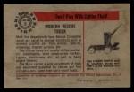 1953 Bowman Firefighters #6   Modern Rescue Truck - Mack Back Thumbnail