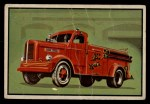 1953 Bowman Firefighters #53   Modern Triple Combination - Four Wheel Drive Front Thumbnail