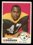 1969 Topps #155  Marv Woodson  Front Thumbnail