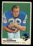 1969 Topps #202  Jacque MacKinnon  Front Thumbnail