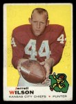 1969 Topps #252  Jerrel Wilson  Front Thumbnail