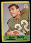 1967 Philadelphia #136  Tim Brown  Front Thumbnail