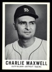 1960 Leaf #48  Charlie Maxwell  Front Thumbnail