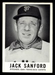 1960 Leaf #54  Jack Sanford  Front Thumbnail