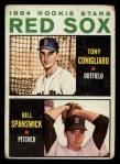 1964 Topps #287   -  Tony Conigliaro / Bill Spanswick Red Sox Rookies Front Thumbnail