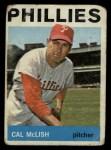 1964 Topps #365  Cal McLish  Front Thumbnail