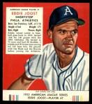 1953 Red Man #7 AL Eddie Joost  Front Thumbnail