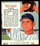 1955 Red Man #8 AL Bob Lemon  Front Thumbnail
